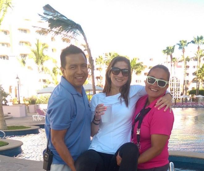 Linda, J Luis, and I