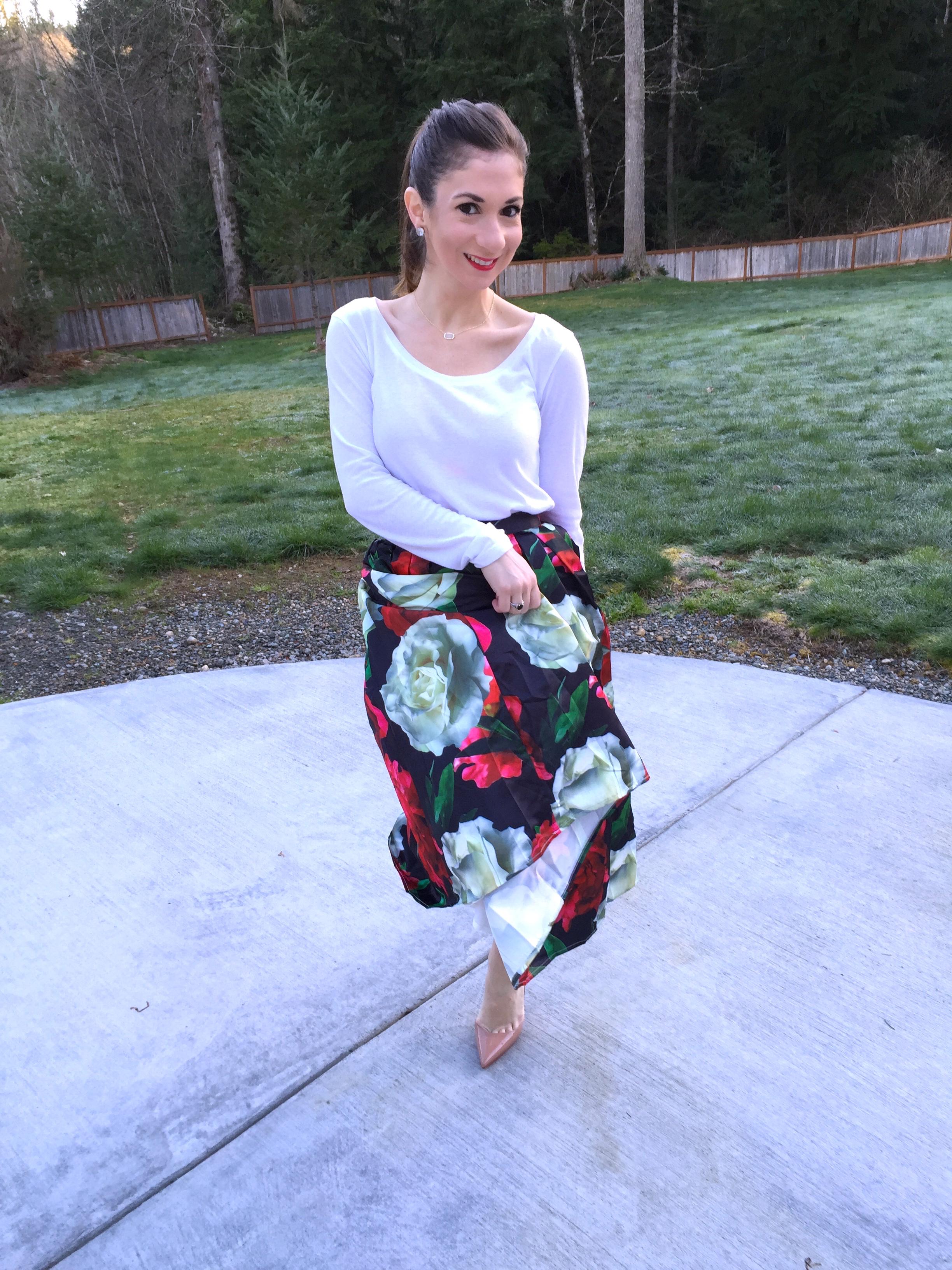 Spring skirt 3