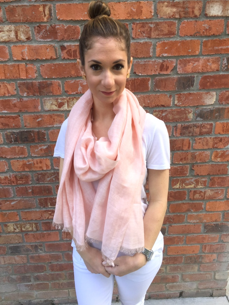 pink scarf 2