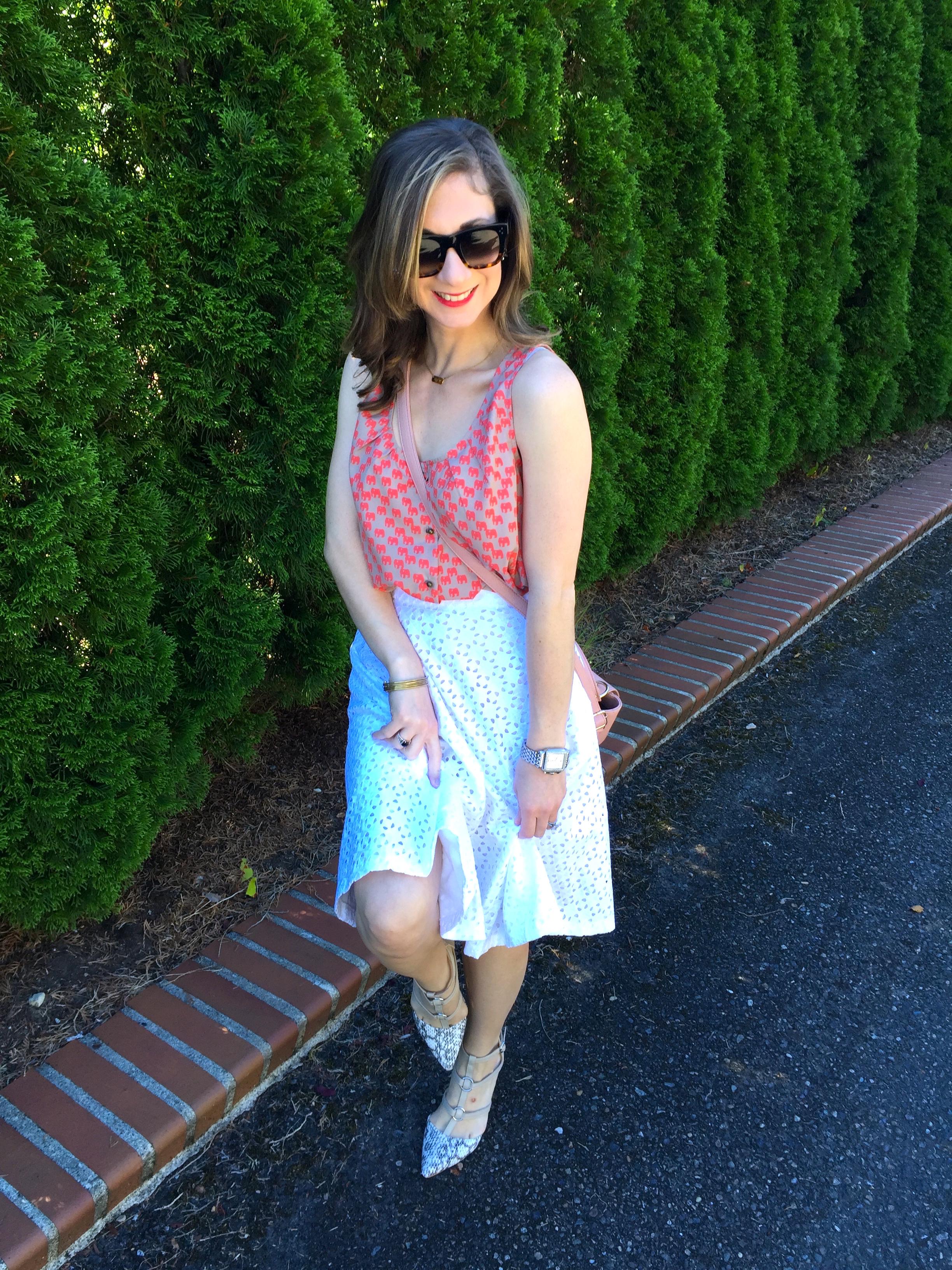 white skirt 3